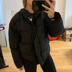 Urban Outfitters Puffer in Black